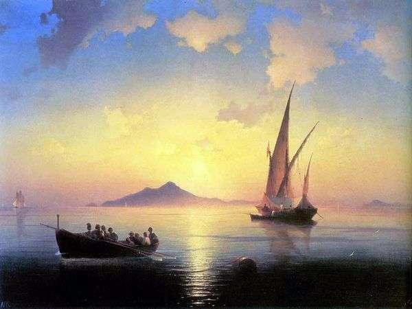 ナポリ湾   Ivan Aivazovsky