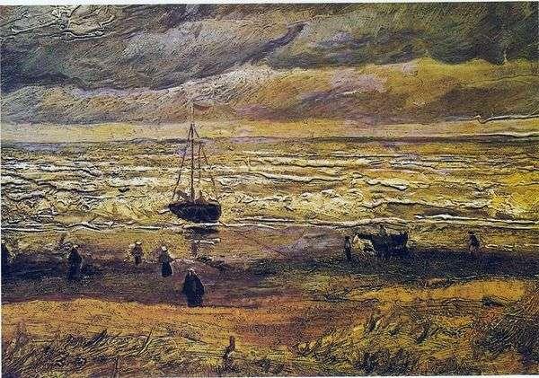 スヘフェニンゲン   ヴィンセントヴァンゴッホの海の景色