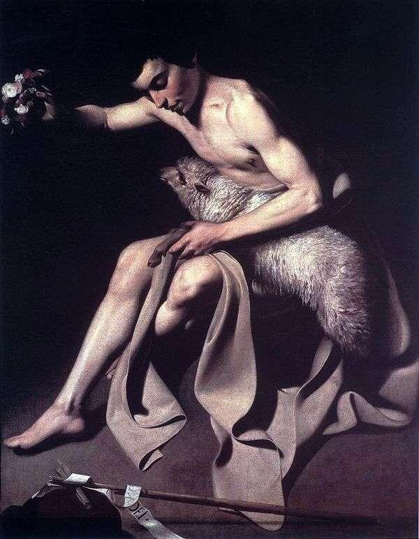 洗礼者ヨハネ   Michelangelo Merisi da Caravaggio