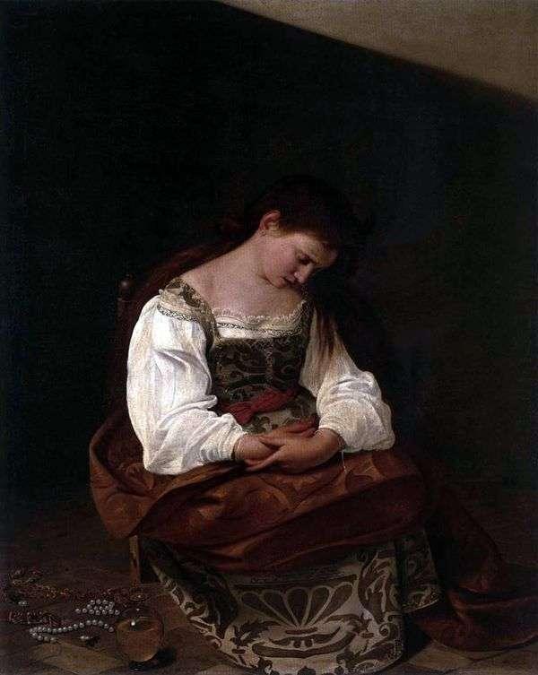 The Penitent Magdalen   ミケランジェロメリッサダカラヴァッジョ