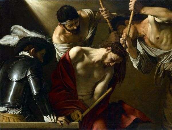 いばらの冠を冠する   Michelangelo Merisi da Caravaggio