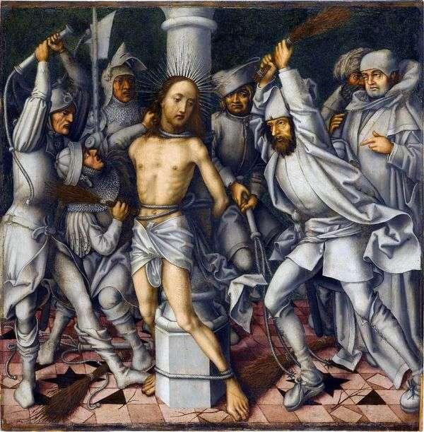 キリストの鞭毛   ハンス・ホルバイン