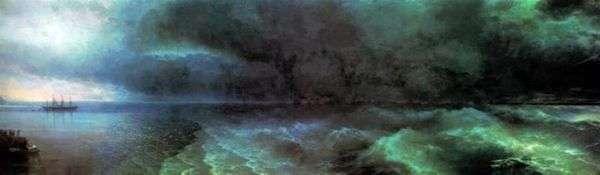 平穏からハリケーンまで   Ivan Aivazovsky