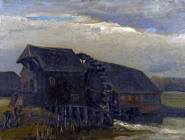 Opvertenの水車小屋   Vincent Van Gogh
