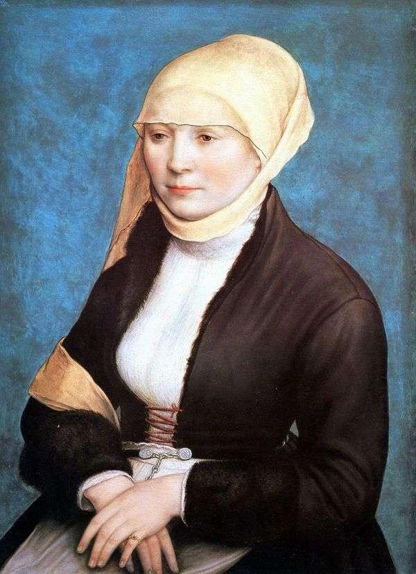 女性の肖像   ハンス・ホルバイン