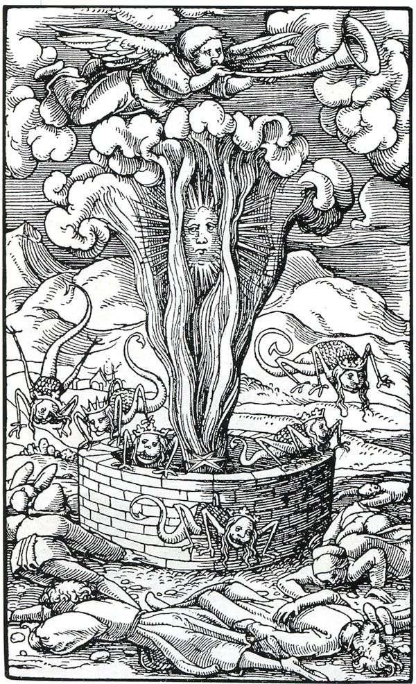 星が深淵に陥る   Hans Holbein