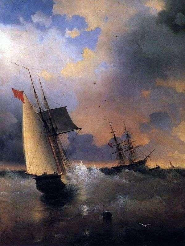 ヨット   イワンAivazovsky