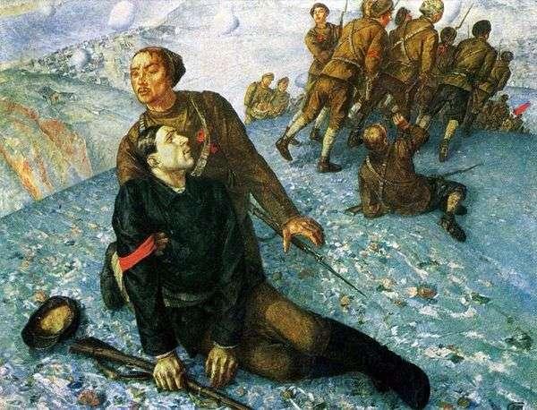 コミッサルの死   クズマSergeevich Petrov Vodkin