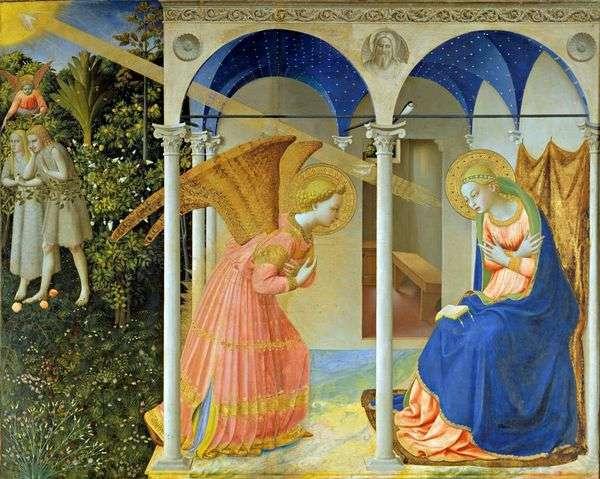 受胎告知   Angelico Fra