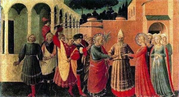 聖母マリアの結婚   Angelico Fra