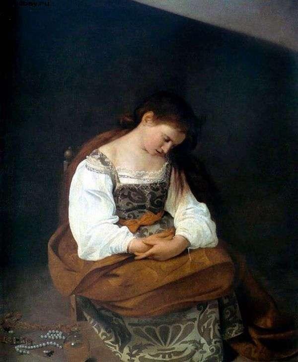 Mary Magdalene   ミケランジェロメリシダカラヴァッジョ