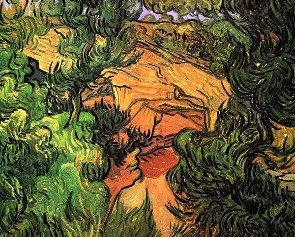 採石場への入り口   Vincent Van Gogh