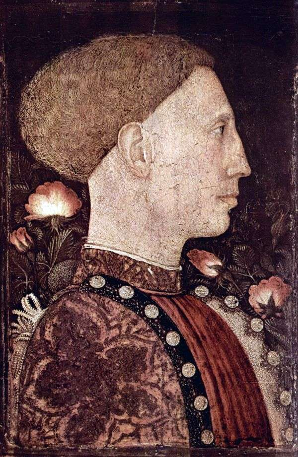 Leonello dEste   Antonio Pisanelloの肖像画