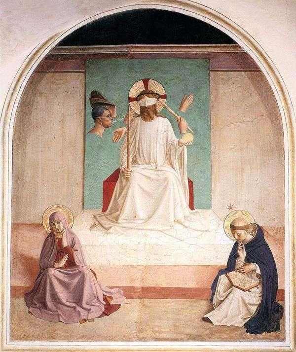 キリストの嘲笑   Angelico Fra