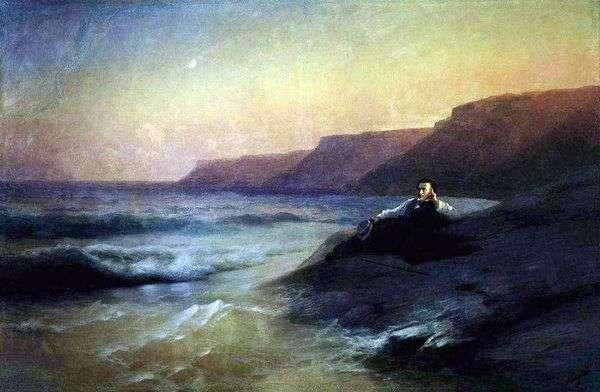 黒海のプーシキン   Ivan Aivazovsky