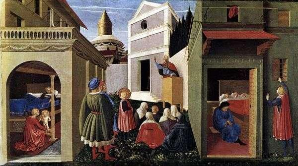 ペルージャトリプティク   Angelico Fra