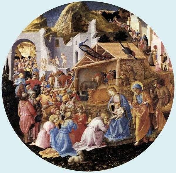 マギの崇拝   Angelico Fra