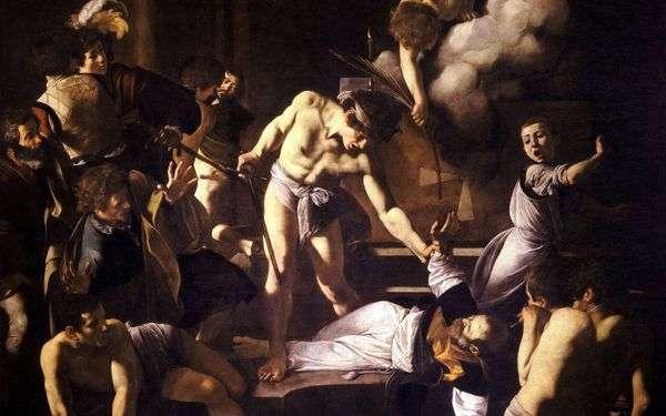 聖マタイの殉教   ミケランジェロメリシダカラヴァッジョ