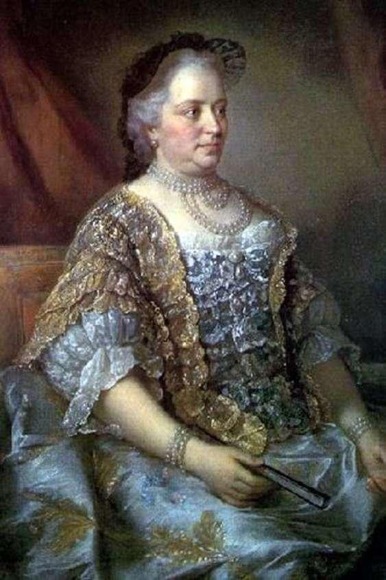 オーストリアの皇后マリア・テレジアの肖像   Jean ÉtienneLiotard