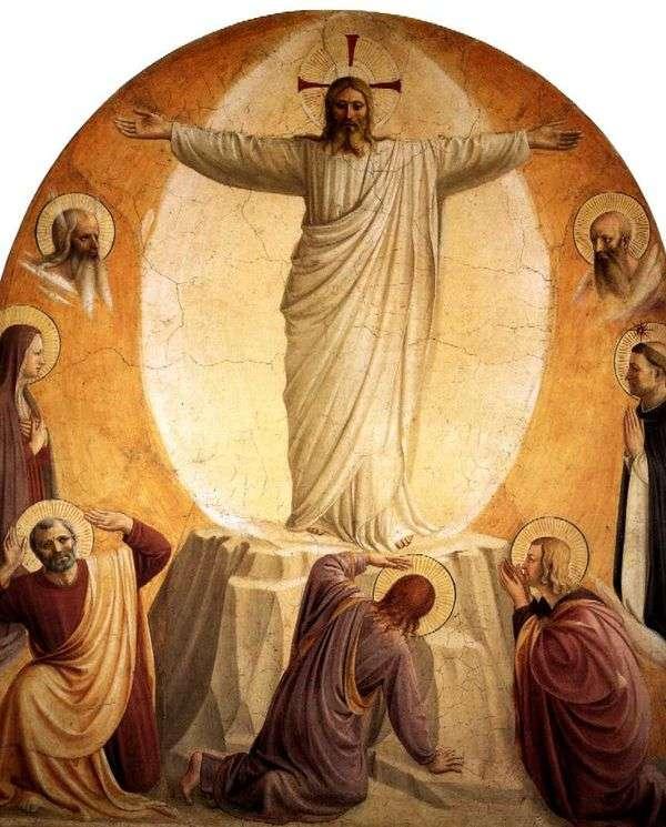 主の変容   Angelico Fra