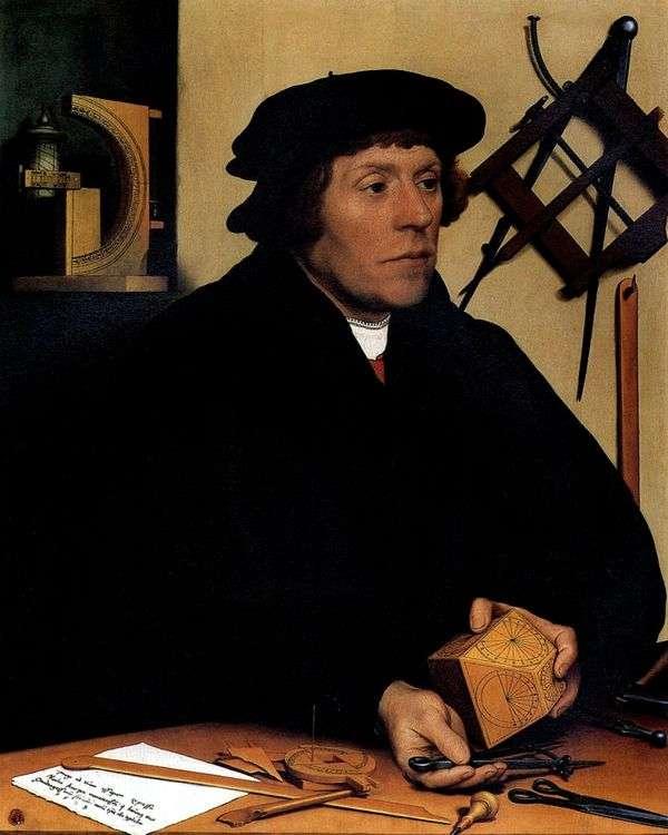 天文学者ニコラス・クラッツァー   ハンス・ホルバインの肖像