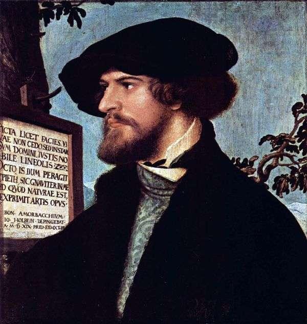 Boniface Amerbach   Hans Holbeinの肖像