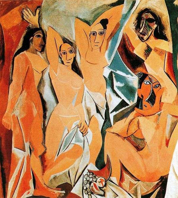 アヴィニョンガールズ   Pablo Picasso