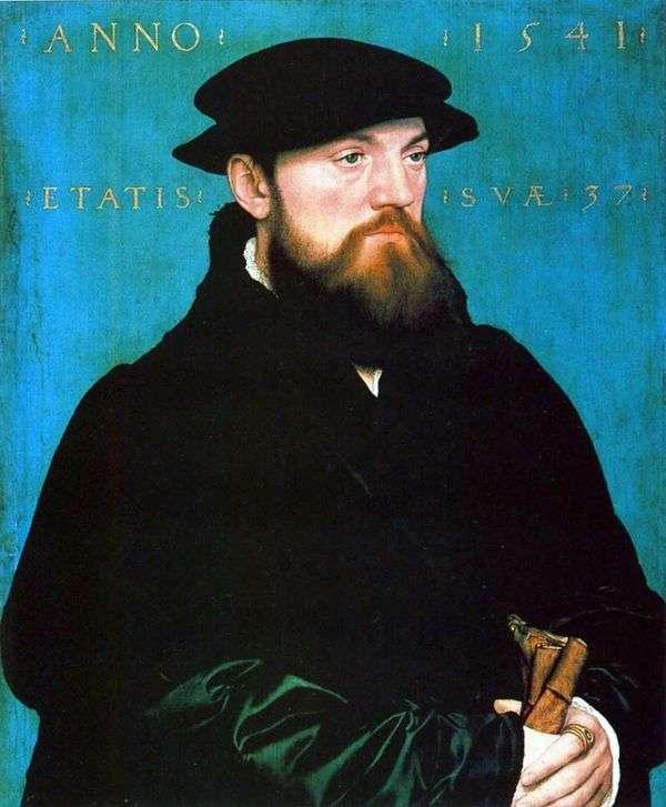 Bos van Stenwijk   ハンス・ホルバインの肖像