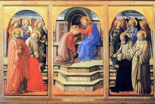 メアリーの王冠   Fra Filippo Lippi