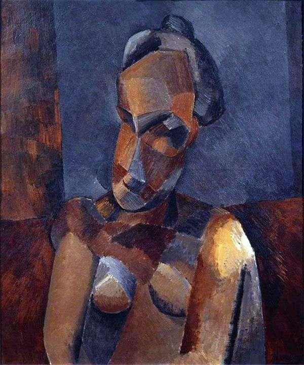 女性のバスト   パブロ・ピカソ