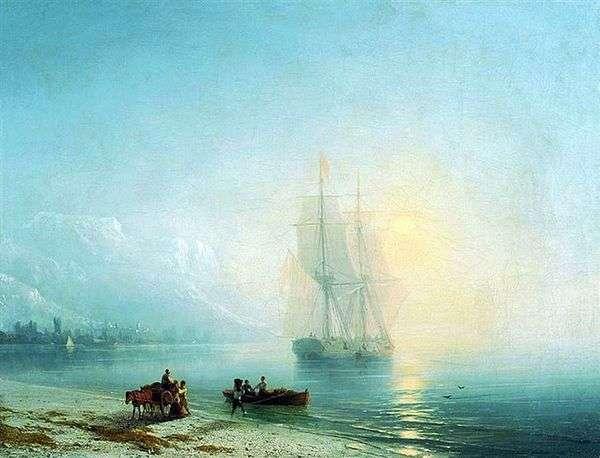 穏やかな海   イワンAivazovsky