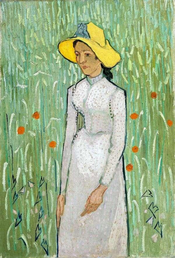 白人の女の子   Vincent Van Gogh