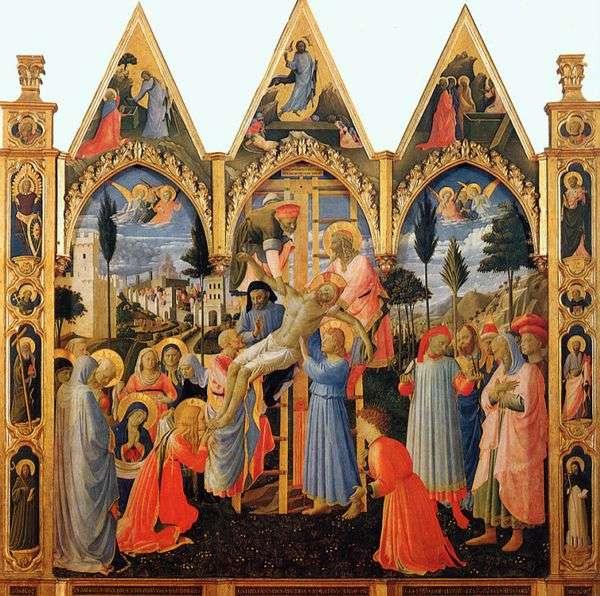 十字架からの降下   Angelico Fra
