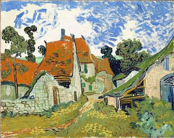 オーヴェルの村の通り   Vincent Van Gogh