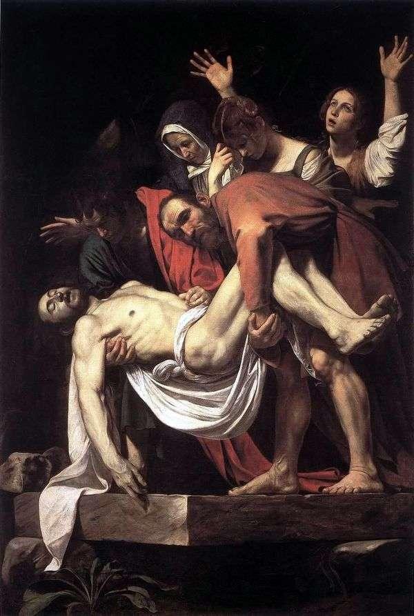 Michelangelo Merisi da Caravaggioによる墓石