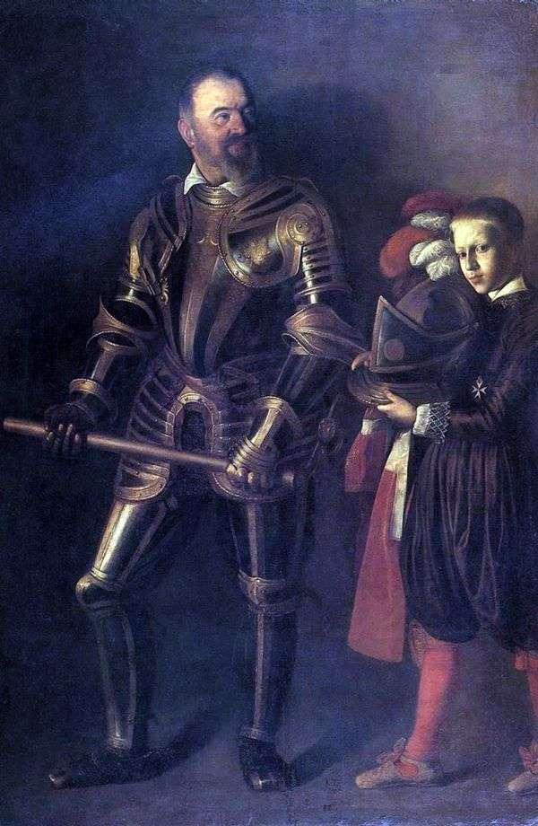 Alof de Vignacura   ミケランジェロメリシダカラヴァッジョの肖像画