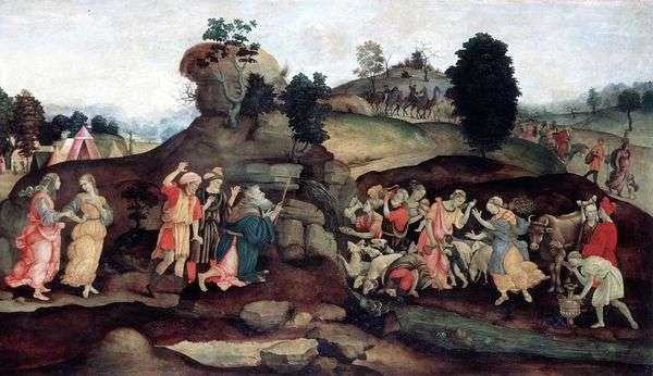 岩からモーゼマイニング水   Filippino Lippi