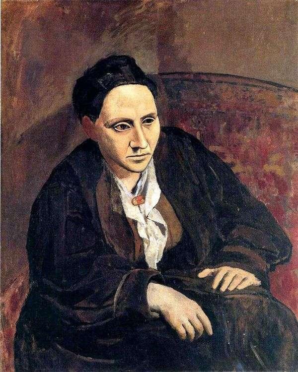 Gertrude Stein   パブロ・ピカソ