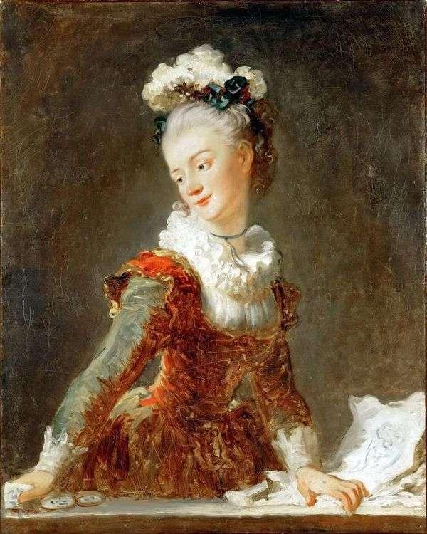 Ballerina Marie Madeleine Huymar   ジャン・オノレ・フラゴナール