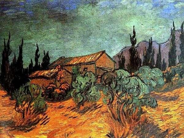木の小屋   Vincent Van Gogh