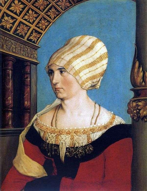 Dorothea Kannengisser   Hans Holbeinの肖像