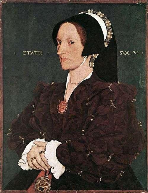 マルガリータホワイトレディリー   ハンス・ホルバインの肖像