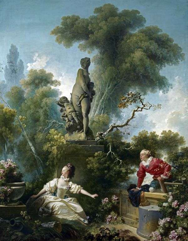 ミーティング   Jean Honore Fragonard
