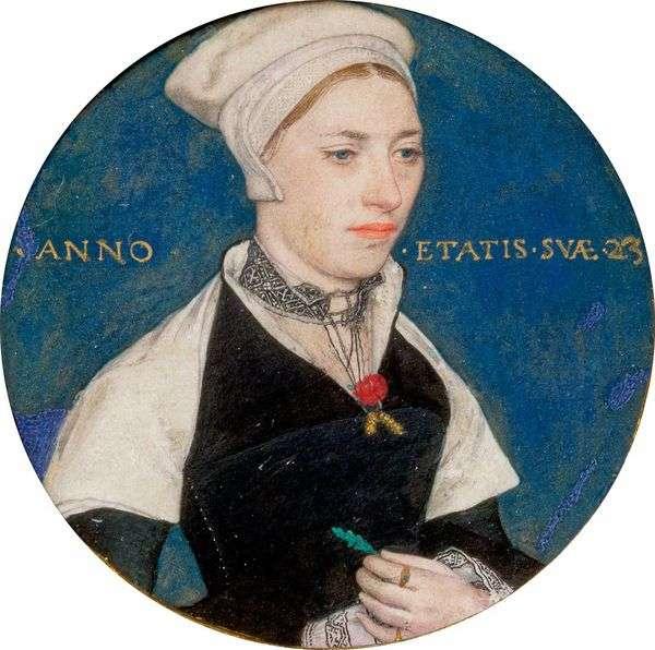 夫人ペンバートン   ハンス・ホルバインの肖像