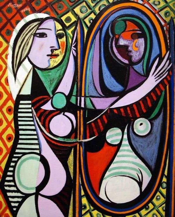 鏡の前の女の子   パブロ・ピカソ