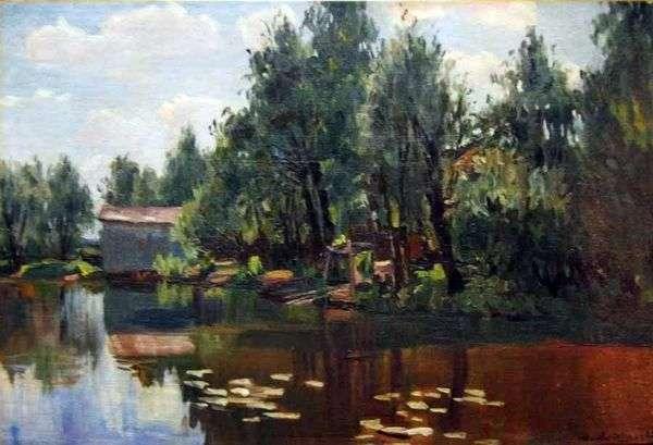 池   Manuil Khristoforovichアラジャロで