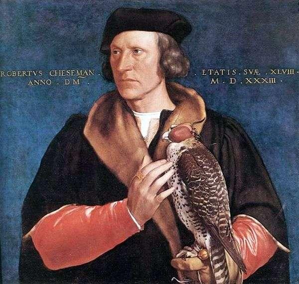 Robert Cheeseman   Hans Holbeinの肖像