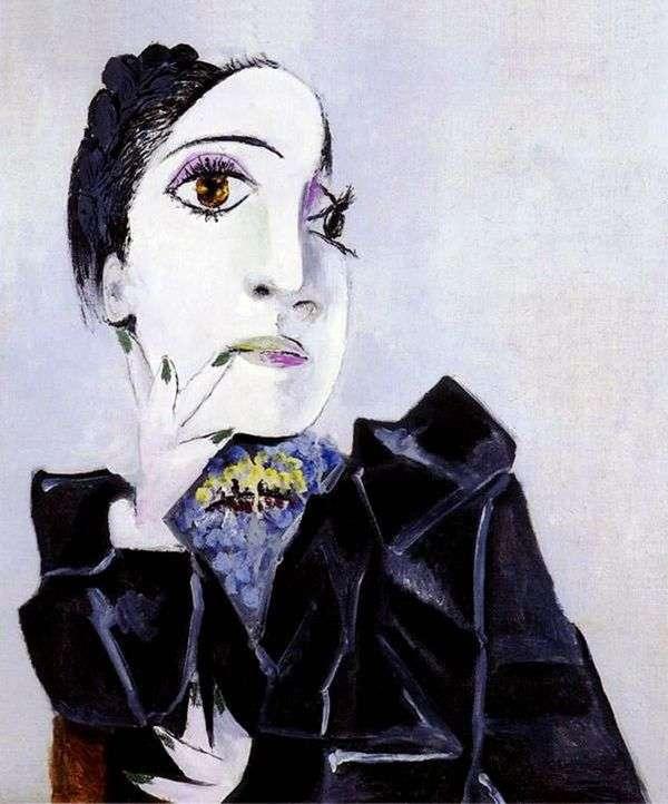 グリーンネイルとドラマール   Pablo Picasso