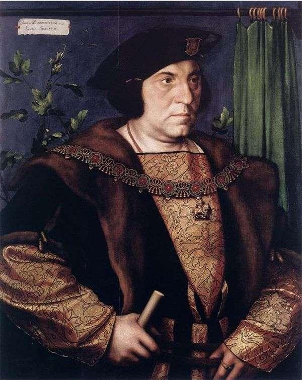 ヘンリー・ギルフォード卿の肖像   ハンス・ホルバイン