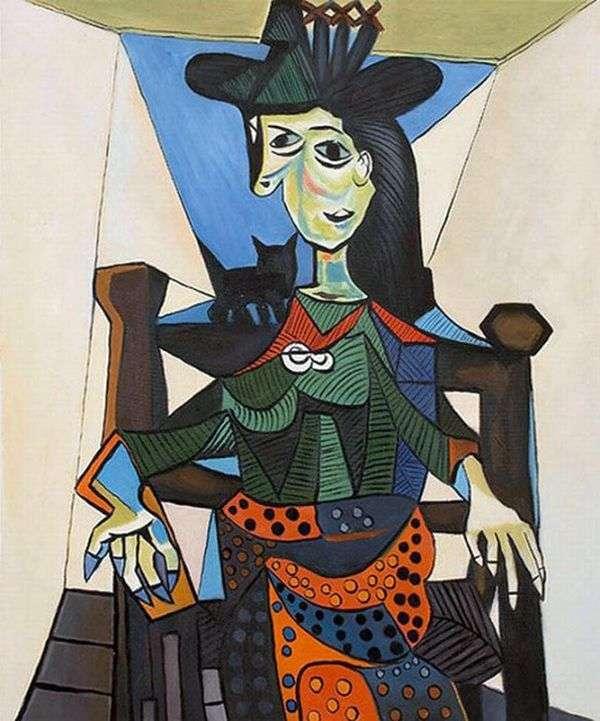 ドラマールと猫   Pablo Picasso